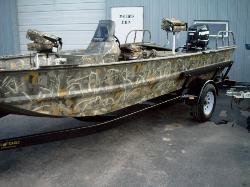Backwaters Marine War Eagle Boats Evinrude